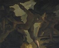 épisode de la guerre des titans by théodore géricault