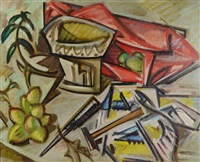 without beginning, without end (+ still life with tools, verso) by william horace littlefield