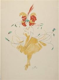 tamar karsavina ou l'heure dansante au jardin du roi (5 wks in folio) by robert brussel