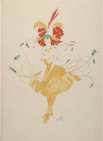 tamar karsavina ou lheure dansante au jardin du roi 5 wks in folio by robert brussel