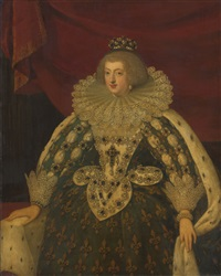portrait of anne of austria by frans pourbus the younger