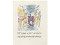 aventures prodigieuses de tartarin de tarascon (bk by alphonse daudet w/141 works, 4to) by raoul dufy
