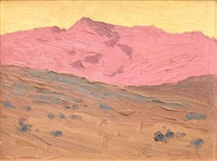 red mountain landscape by frémont ellis