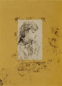 ritratto di giovane donna by alessandro altamura