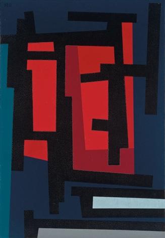 untitled tape grid series by karl stanley benjamin