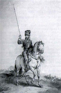 a cossack of the ural mountains by john augustus atkinson