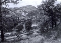 vale of llangollen, north wales by george cammidge