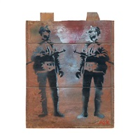 untitled (soldiers) by blek le rat