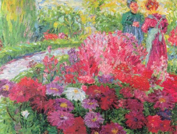 Bilder Blumengarten blumengarten by emil nolde on artnet