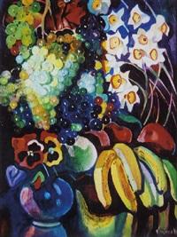 composition aux fleurs et fruits by boris smirnov