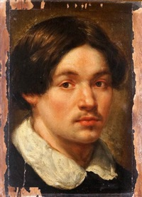 portrait de jeune homme by jacob oost the elder