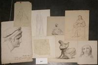 scène antique, maternité, etudes de femmes (8 works) by françois joseph navez