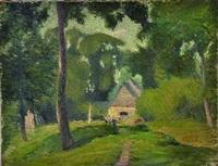 paysage de campagne by marcel couchaux