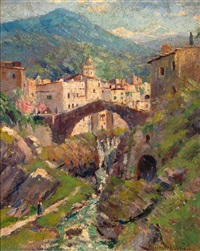 die brücke in mostar by peter paul müller-werlau