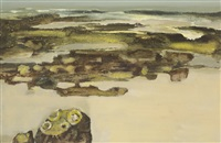 shore (i) and low tide (pair) by arthur armstrong