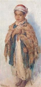 portrait d'un jeune garçon by edouard verschaffelt