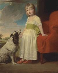 portrait of the hon. thomas fane, m.p. (1760-1807) by george romney