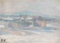 vue du mont valérien by paule gobillard