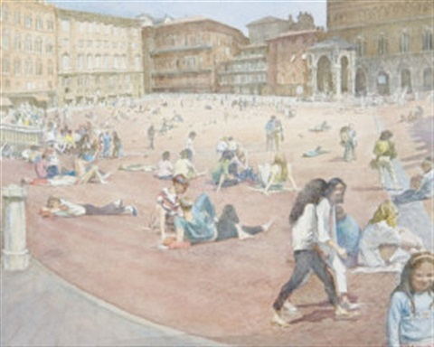 summer day, siena by thomas rathmell