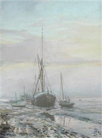 daybreak, pinmill by margaret glass