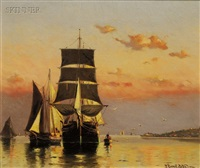 off allerton, boston harbor by frederick r. bates