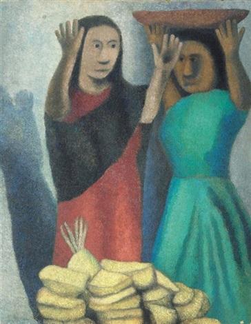 vendedoras by agustín lazo