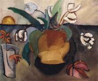 vaas met tulpen by charley toorop