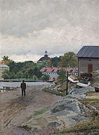 sommarpromenad, kastellholmen by herman lindqvist