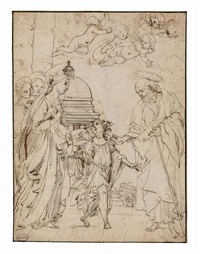 the presentation in the temple by cavaliere giovanni baglione
