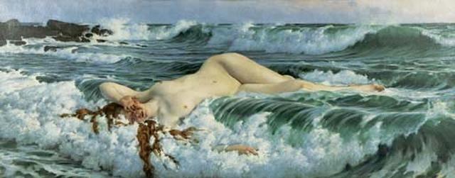 venus reclining in the waves by adolf hiremy-hirschl & Venus reclining in the waves by Adolf Hiremy-Hirschl on artnet islam-shia.org