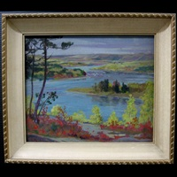 the ottawa river near trois riviere by george agnew reid