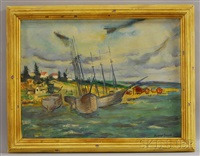 boothbay harbor, maine by rudolf jacobi