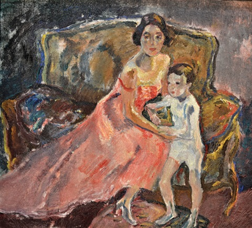 maternidad by leo putz