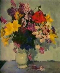 le vase de porcelaine, 1959 by mikhail volodine