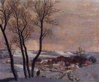 white landscape by eric hesketh hubbard