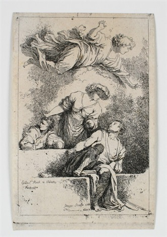die jünger am grab christi by jean honoré fragonard