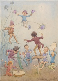 the jazz band by margaret winifred tarrant