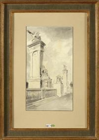le pont alexandre iii à paris by mané-katz