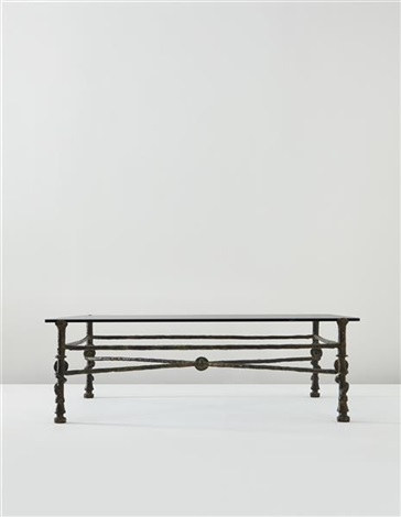 torsade table by diego giacometti
