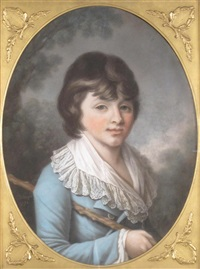 portrait of mr finch as a boy by samuel cotes
