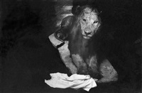 lion au linge (from the la salle des souvenirs series) by gladys