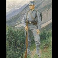 kaiserschützen by felicien de myrbach-rheinfeld
