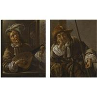 a hunter (+a musician; pair) by jacob duck