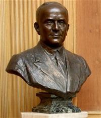 jules mastbaum bust by henri léon greber