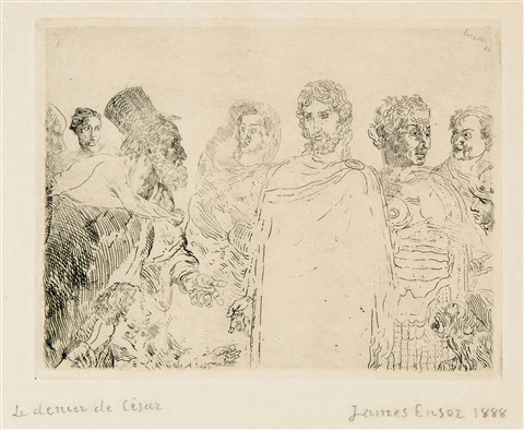 le denier de césar by james ensor