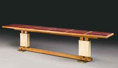 console table by paul dupré lafon