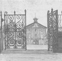 hyde park barracks from st. james church by sydney george ure smith
