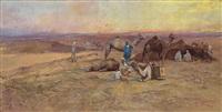 resting in the desert by tadeusz ajdukiewicz