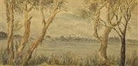 perth from applecross by b.d. liston