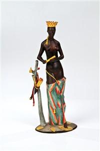 indianerin by josef wackerle